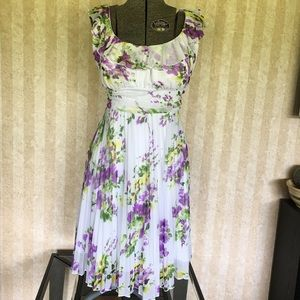 Maurices Floral Sleeveless Dress